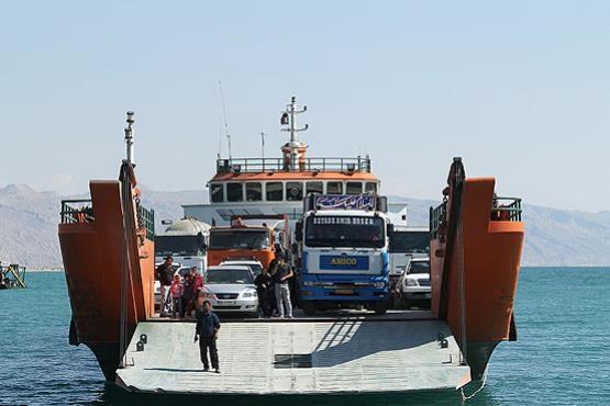 حمل بار از تهران به کیش