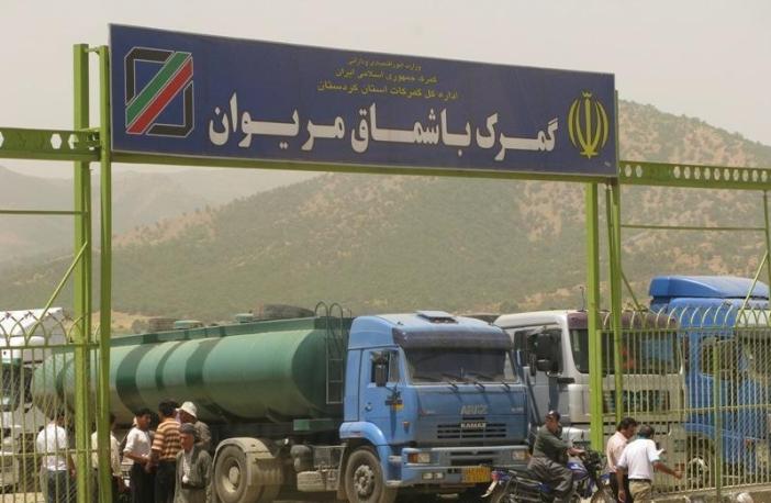حمل بار از تهران به باشماق