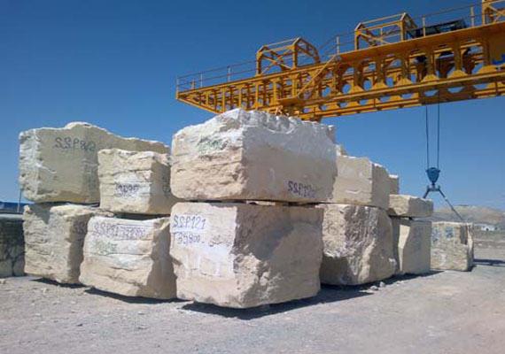 حمل سنگ ساختماني و سنگ كپ