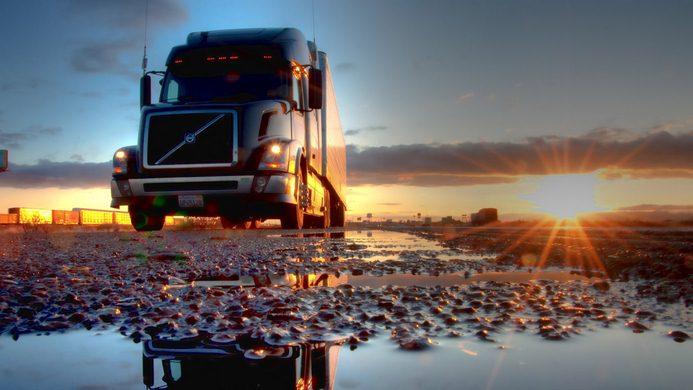 حمل بار به مرز بازرگان با کامیون
