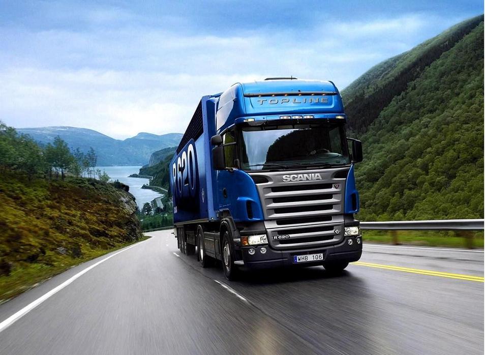 انواع کامیون های حمل بار و باربری جاده مشهد
