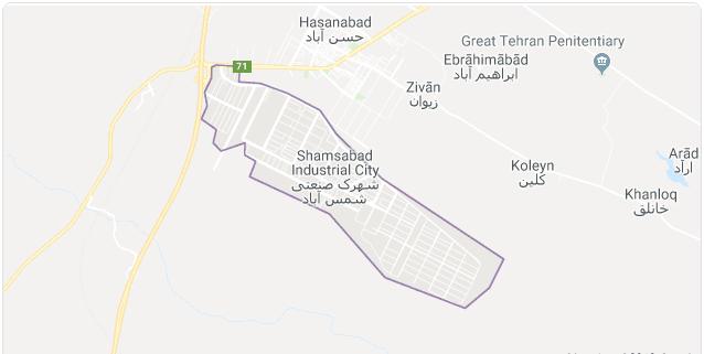 حمل بار شمس آباد