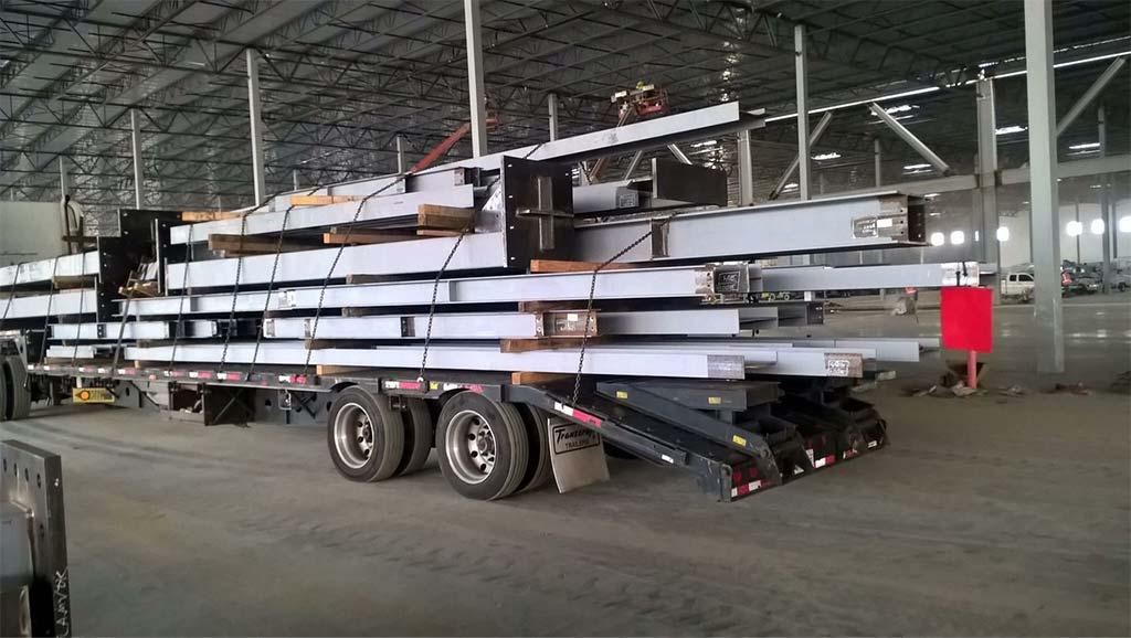 باربری حمل آهن با الوبار