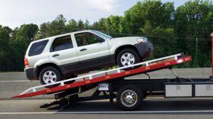 حمل خودرو با خودرو بر تکی
