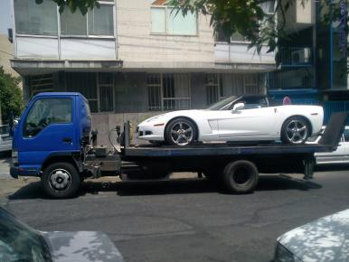 حمل خودرو به سیاهکل