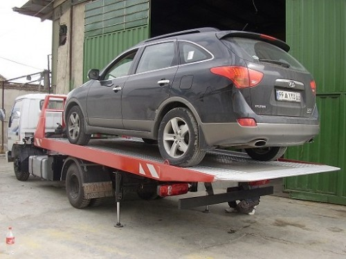 حمل خودرو به بهشهر