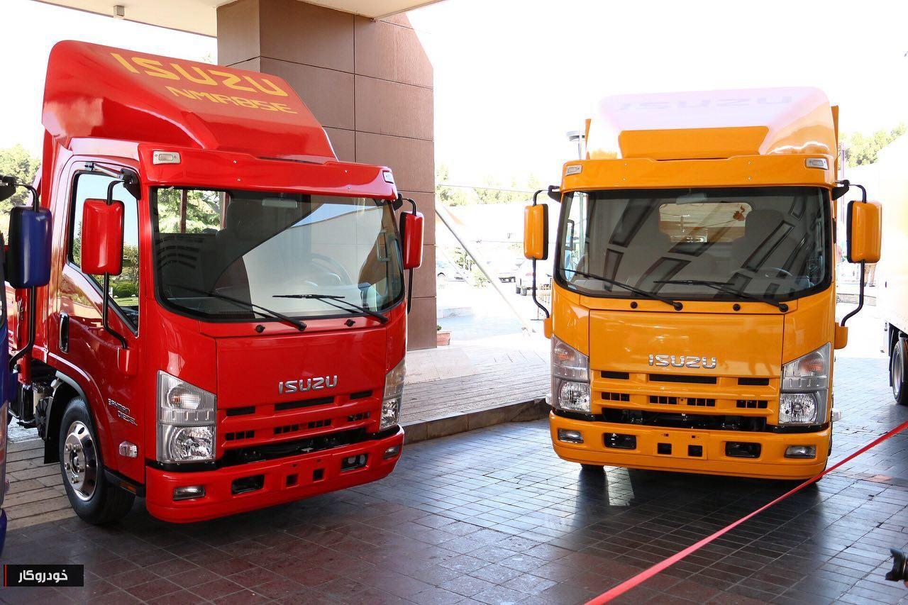 کامیون به لاهیجان