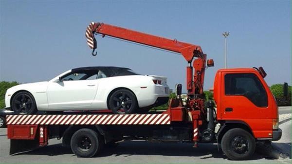 حمل خودرو به منجیل