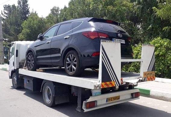 حمل خودرو به بوکان