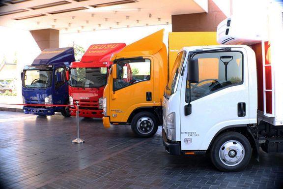 کامیون به استانه اشرفیه