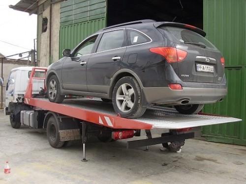حمل خودرو به اران و بیدگل