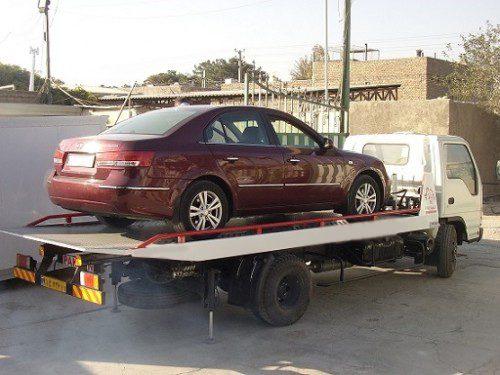 حمل خودرو به شهرضا