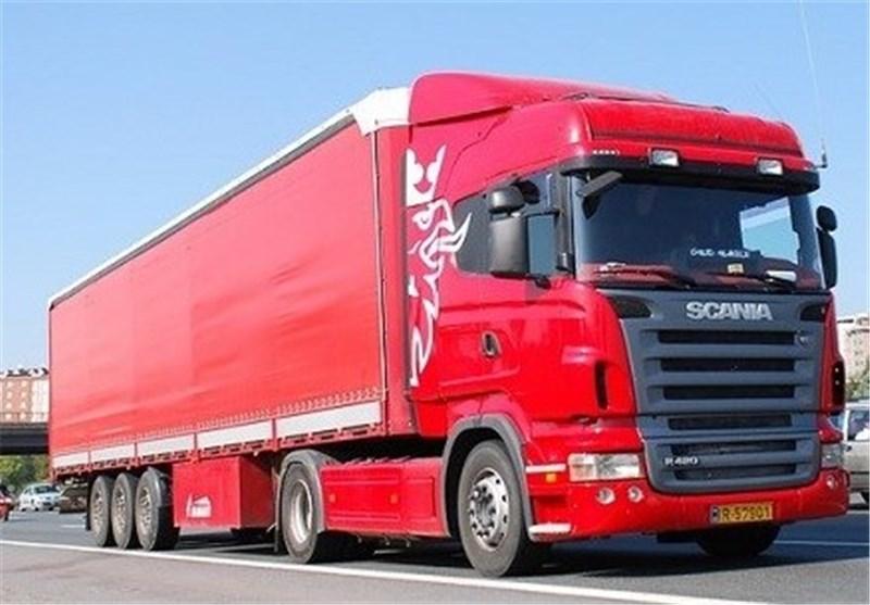 باربری شهرک صنعتی ایوانکی با انواع کامیون