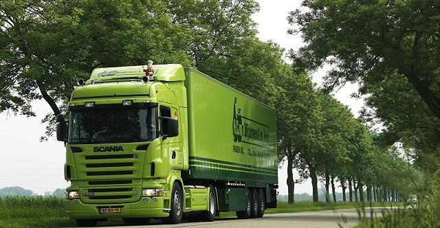 باربری گچ و سیمان با کامیون
