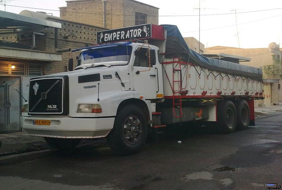 باربری تهران به رشت با کامیون