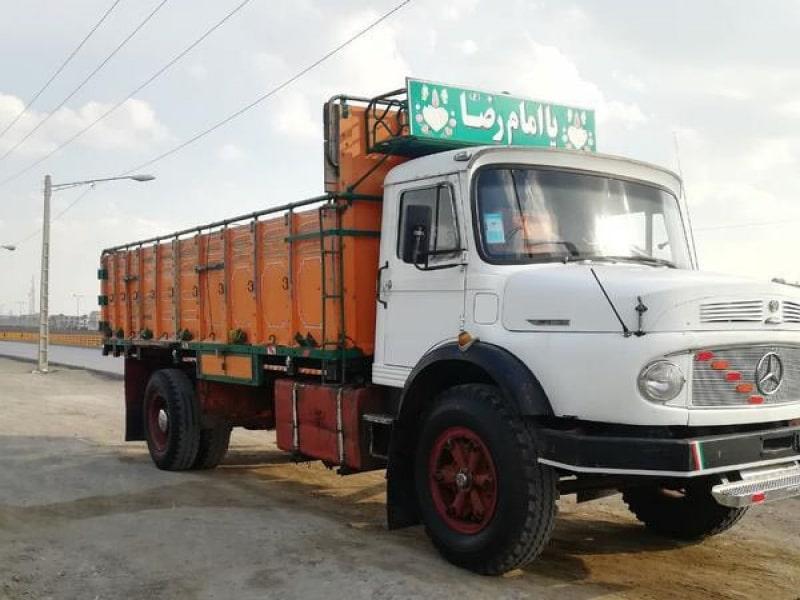 باربری با کامیون تک(10 تن) از تهران