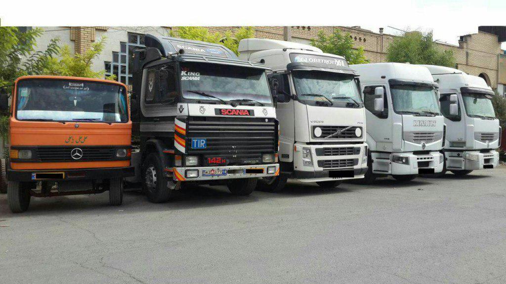 کامیون تک 6 چرخ