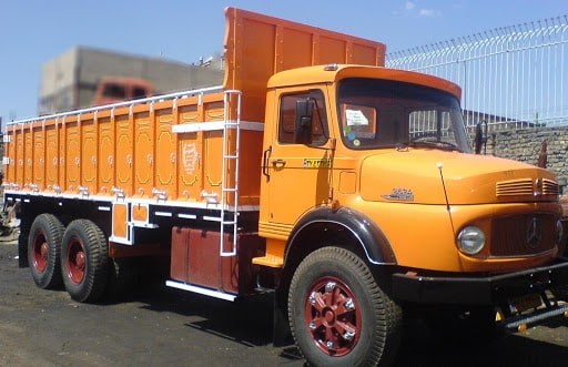 انواع کامیون در حمل بار به سلماس