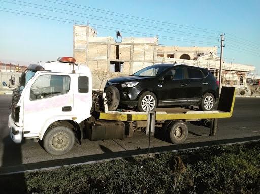 حمل خودرو از تهران به سردشت