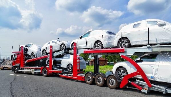 حمل خودرو با تریلی خودرو بر