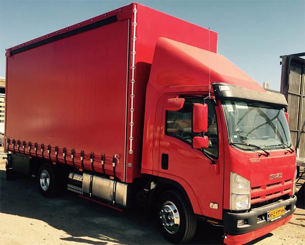 حمل اثاثیه به نهاوند با کامیونت مسقف
