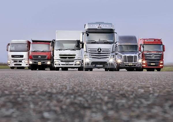 حمل بار به کردستان با کامیون