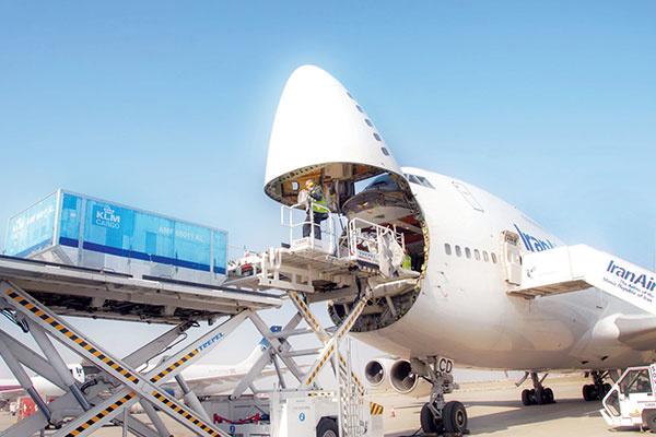 حمل بار از تهران به آنکارا به صورت هوایی