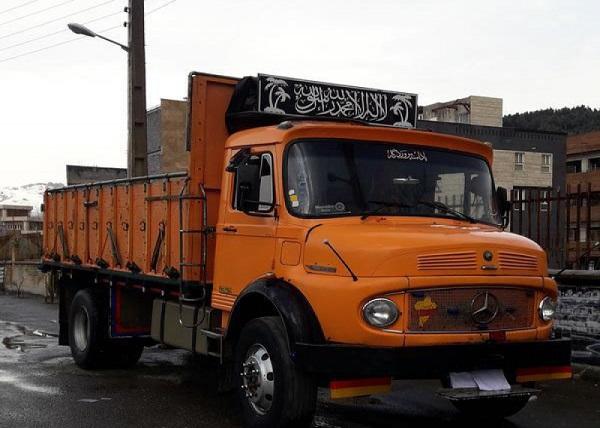 باربری کامیون 911 به مشهد به صورت دربستی