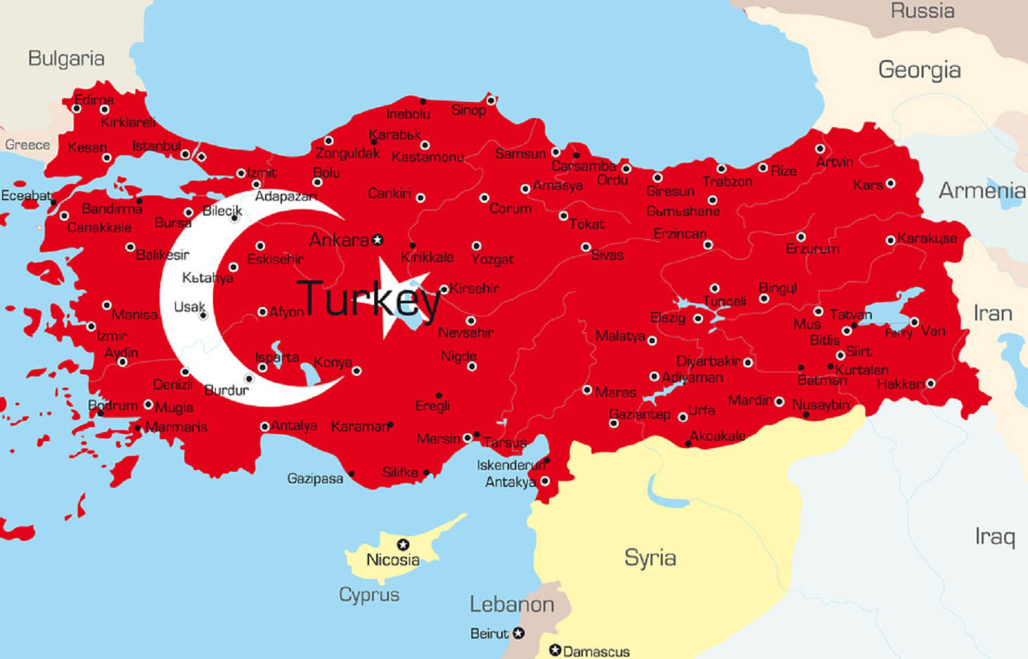 باربری ایران به ترکیه