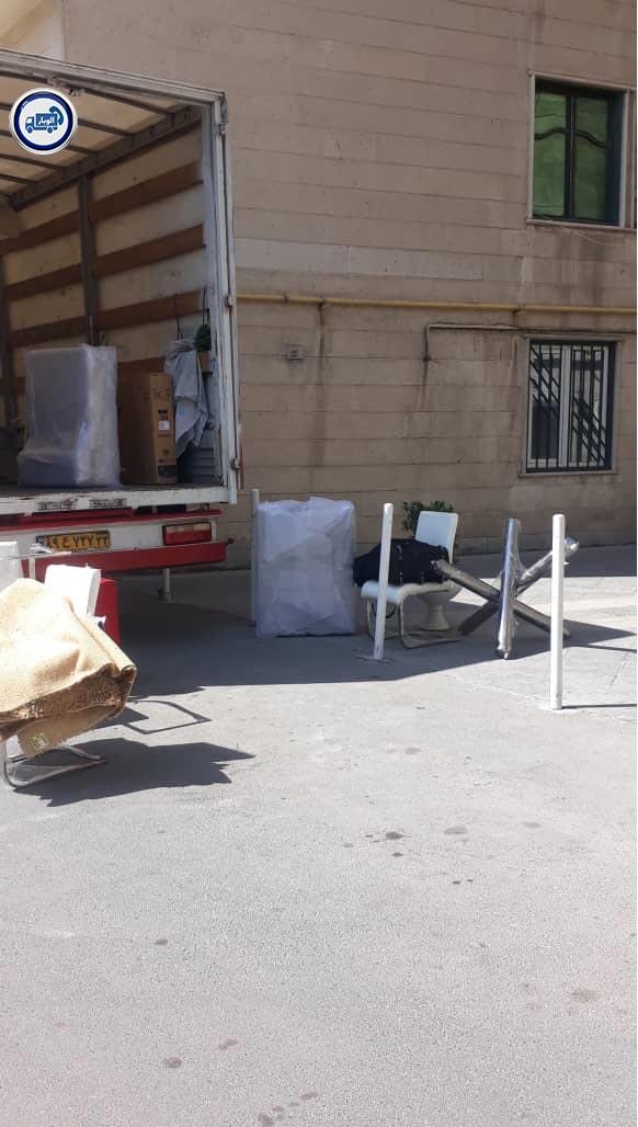 ارسال بار و کالا از تهران به استانبول