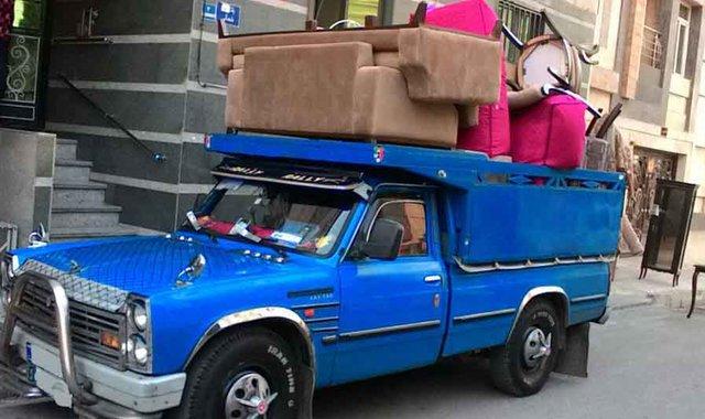 ارسال اثاث به نیشابور با نیسان