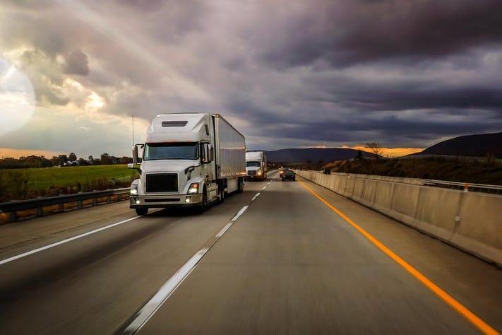 باربری تهران به آزادشهر با کامیون