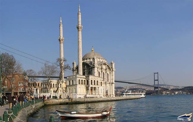باربری مشهد به استانبول